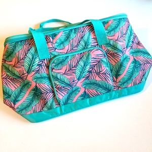 Handbags - Tropical print cooler bag